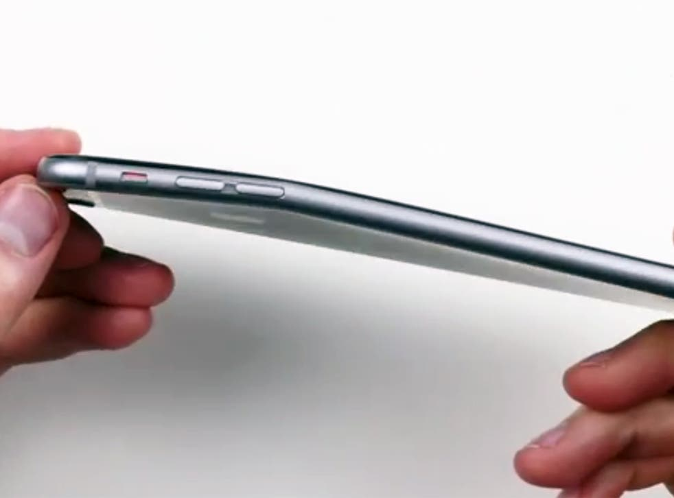 Reports of bent iPhones are probably exaggerated
