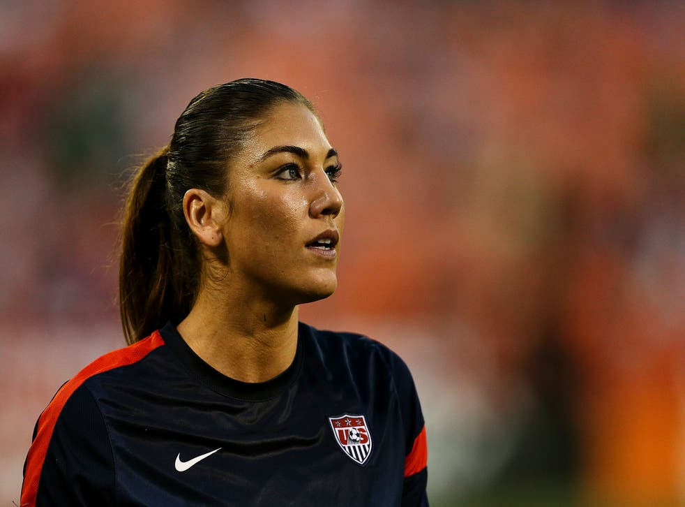 The US Soccer star and two-time Olympic gold medallist was a victim of the 4Chan photo hacking scandal