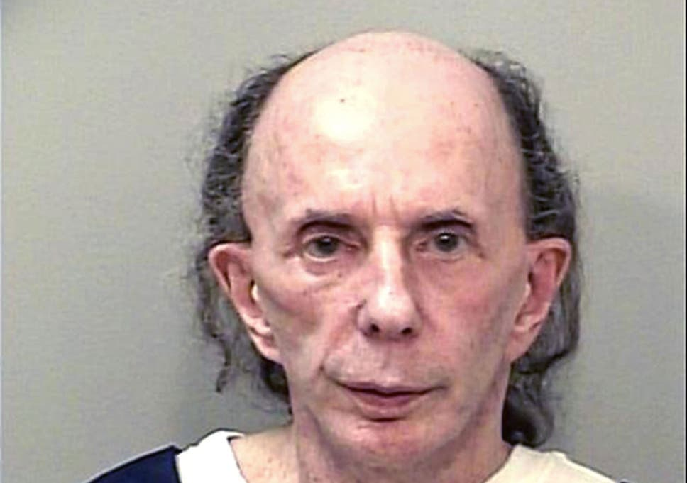 phil spector prison mugshots are released the independent