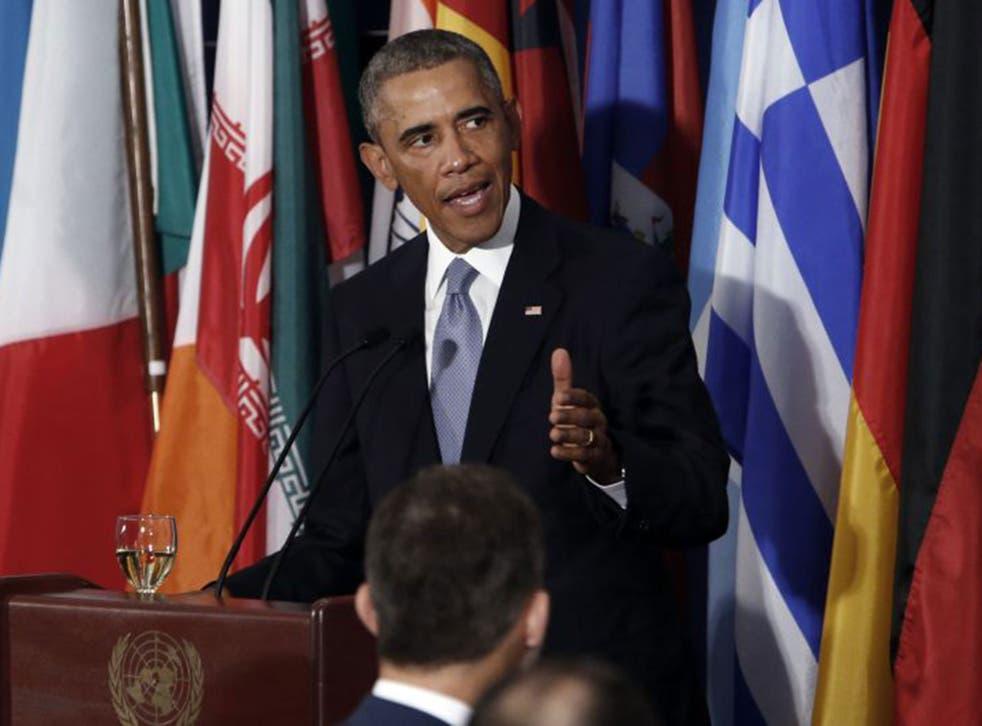 Mr Obama was uncompromising in his condemnation of ISIS in his address