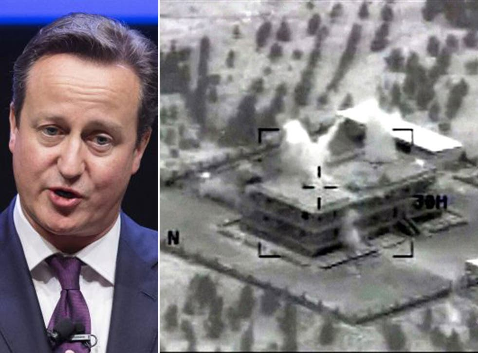 Mr Cameron has recalled MPs to give their approval for British air strikes and military action could potentially begin at the weekend