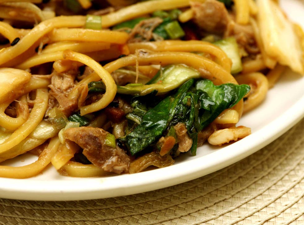 A Chinese restaurant owner admitted to lacing his noodles with opium