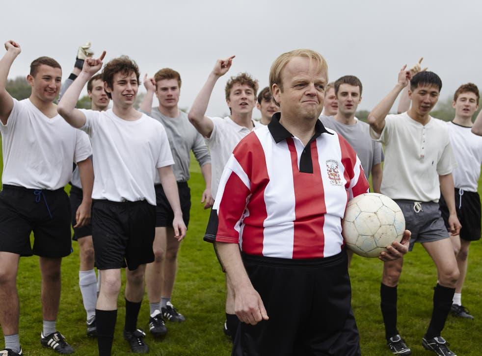 Having a ball: Toby Jones as Neil Baldwin in 'Marvellous'