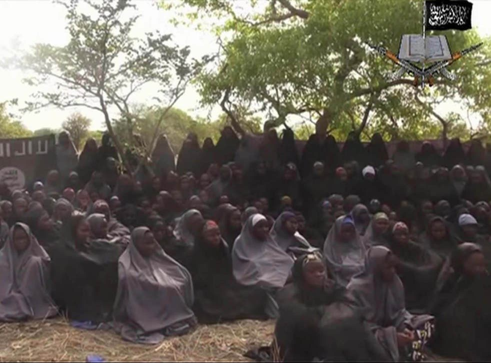 The girls were abducted from the Nigerian town of Chibok back in April