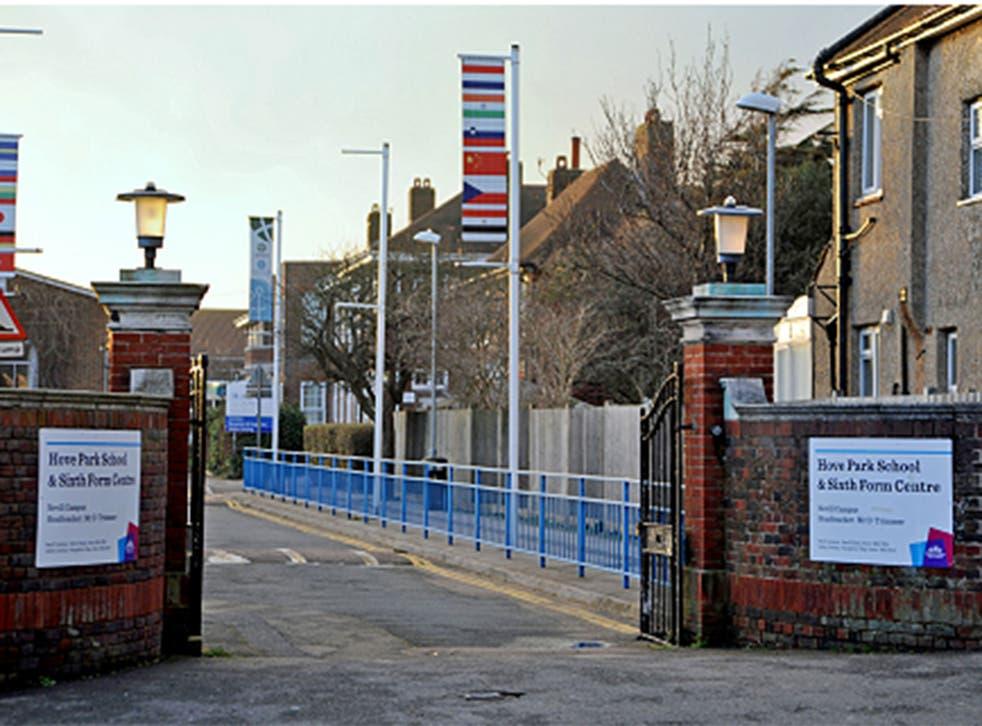 Hove Park School in Sussex