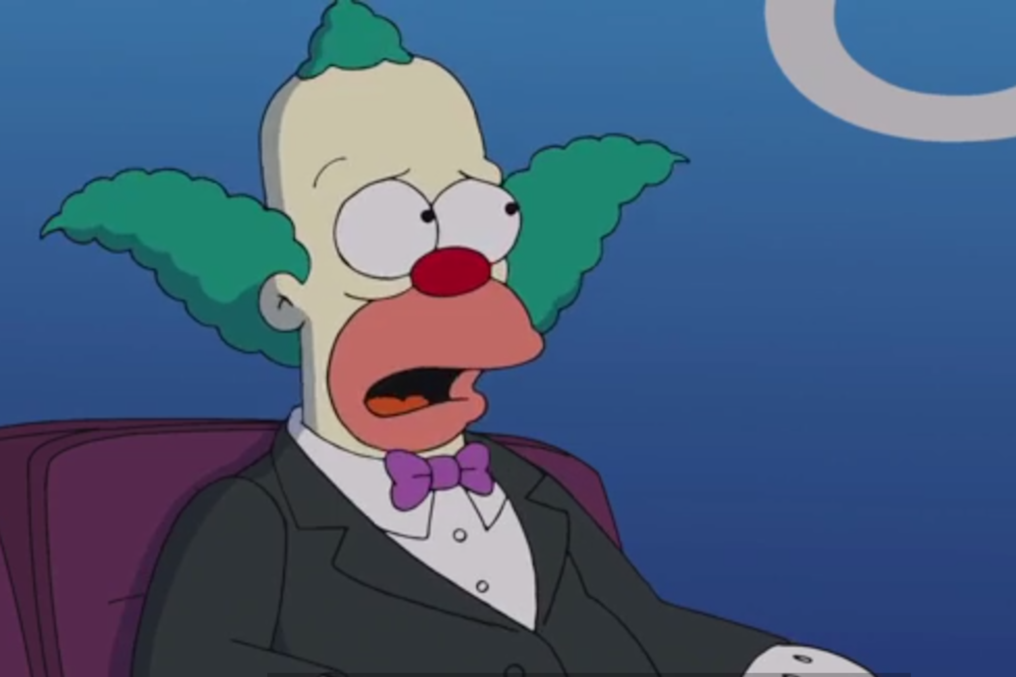 krusty the clown quits in new simpsons season premiere
