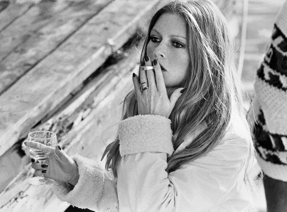 French actress Brigitte Bardot smokes a cigarette - scenes like this could soon be a thing of the past