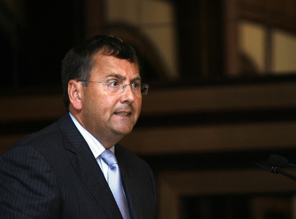 Former Tesco chief executive Phil Clarke