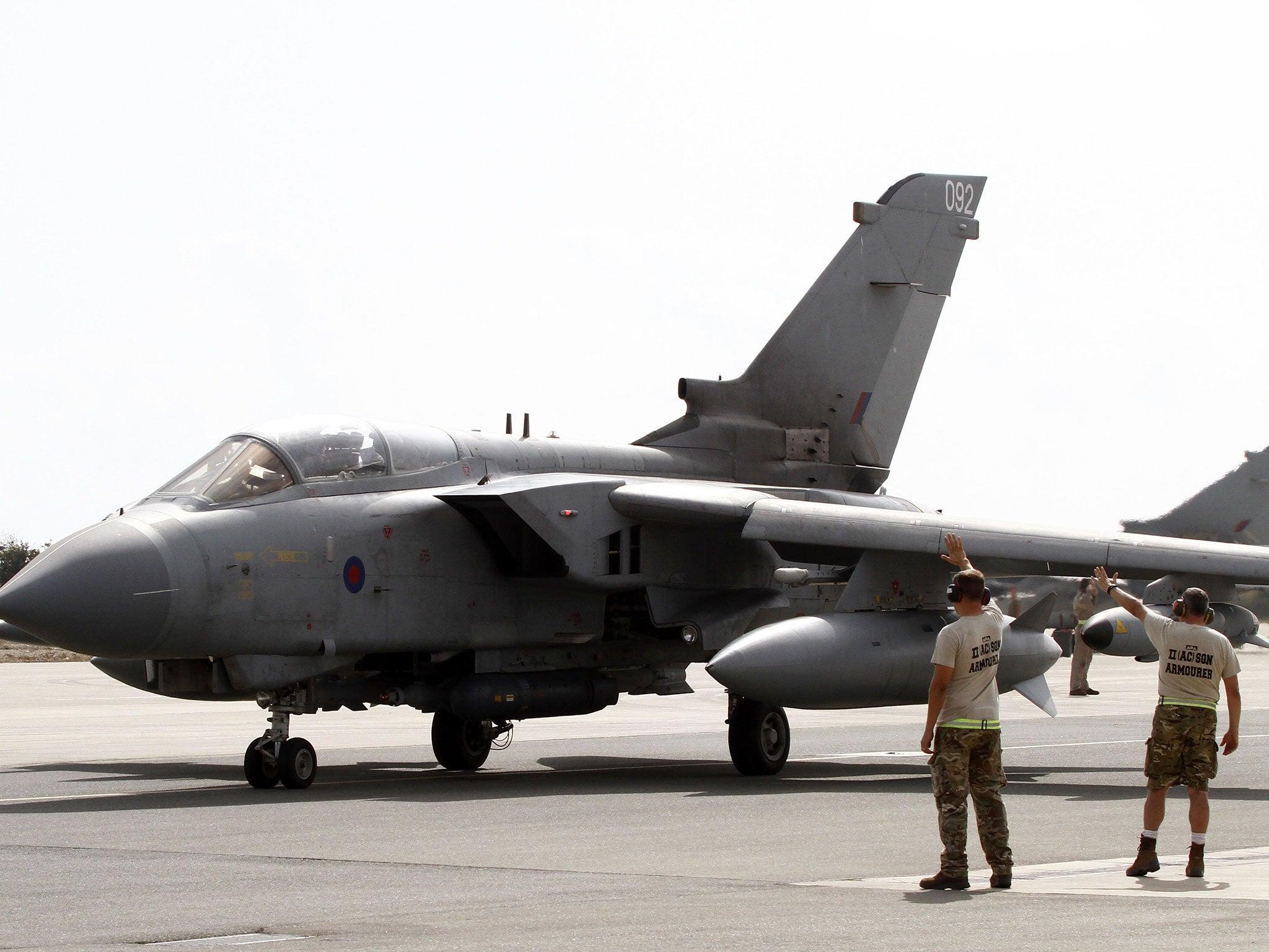 Iraq crisis: RAF Tornado jets return from first mission