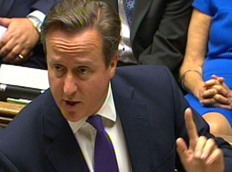 David Cameron gets Commons backing (PA)