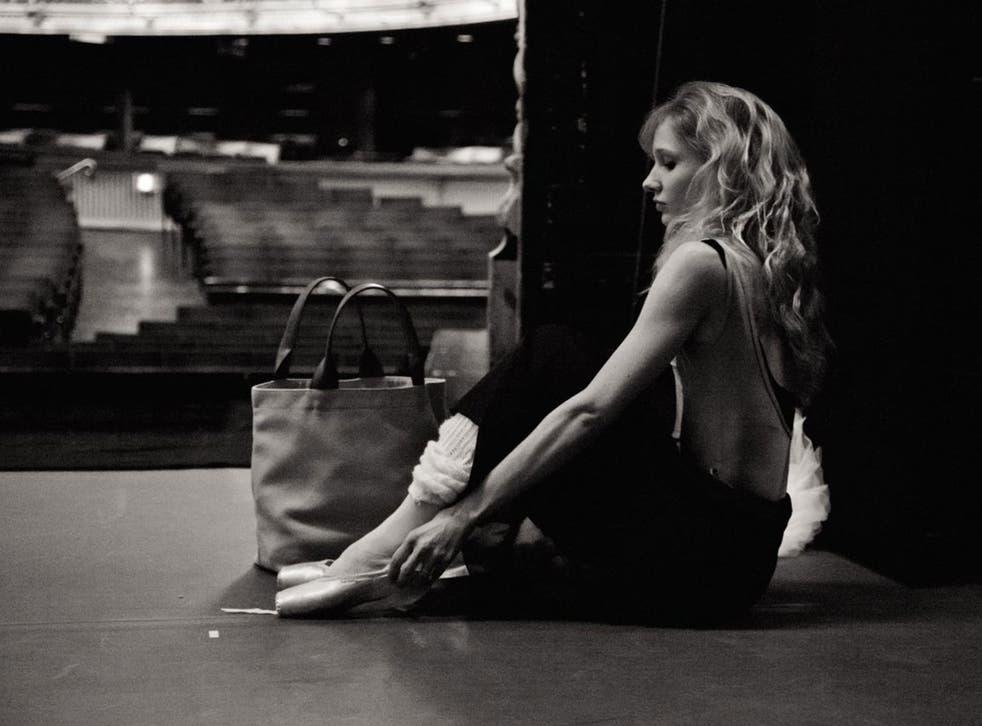 Bags of talent: Melissa Hamilton