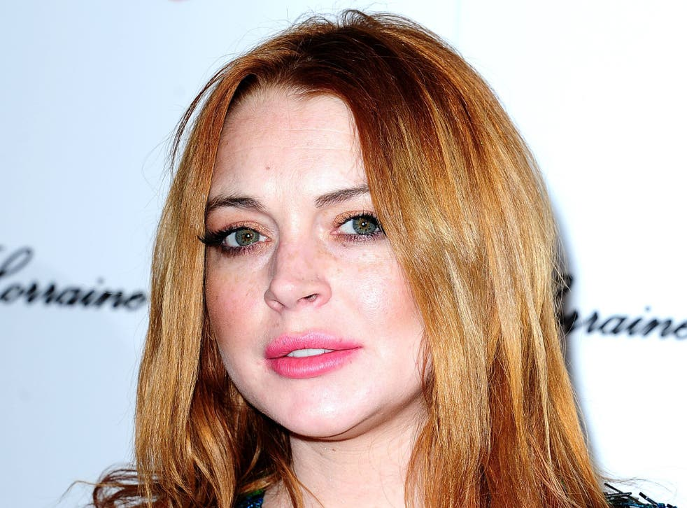 Lindsay Lohan made her West End debut earlier this week in 'Speed-the-Plow'