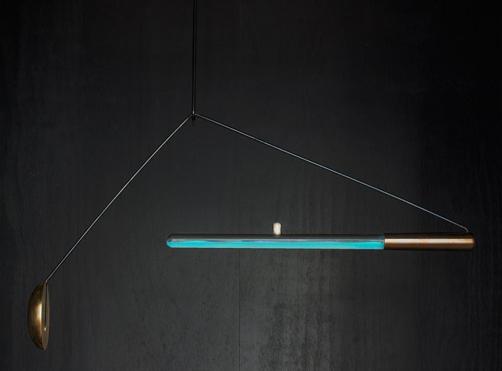 Dutch designer Teresa van Dongen has created a lamp powered by octopus bacteria
