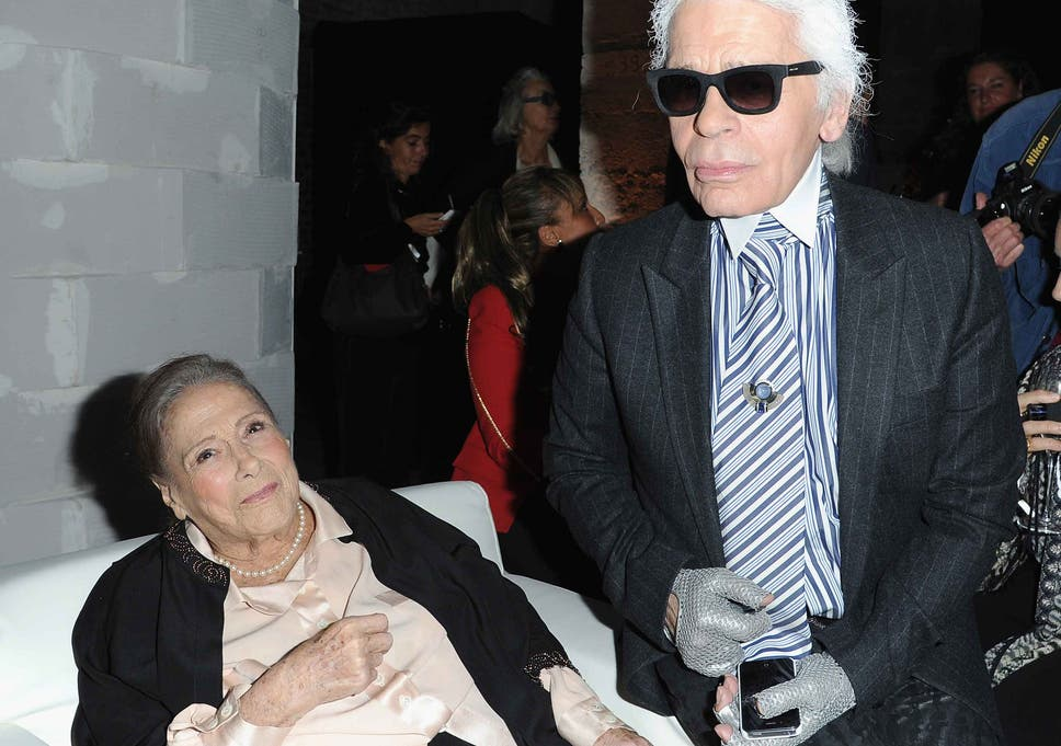 Gaby Aghion The Founder Of French Fashion House Chloe Dies The Independent
