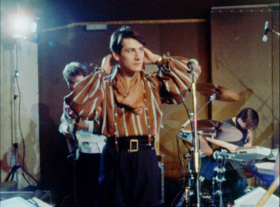 Tony Hadley in a scene from 'Soul Boys Of The  Western World'