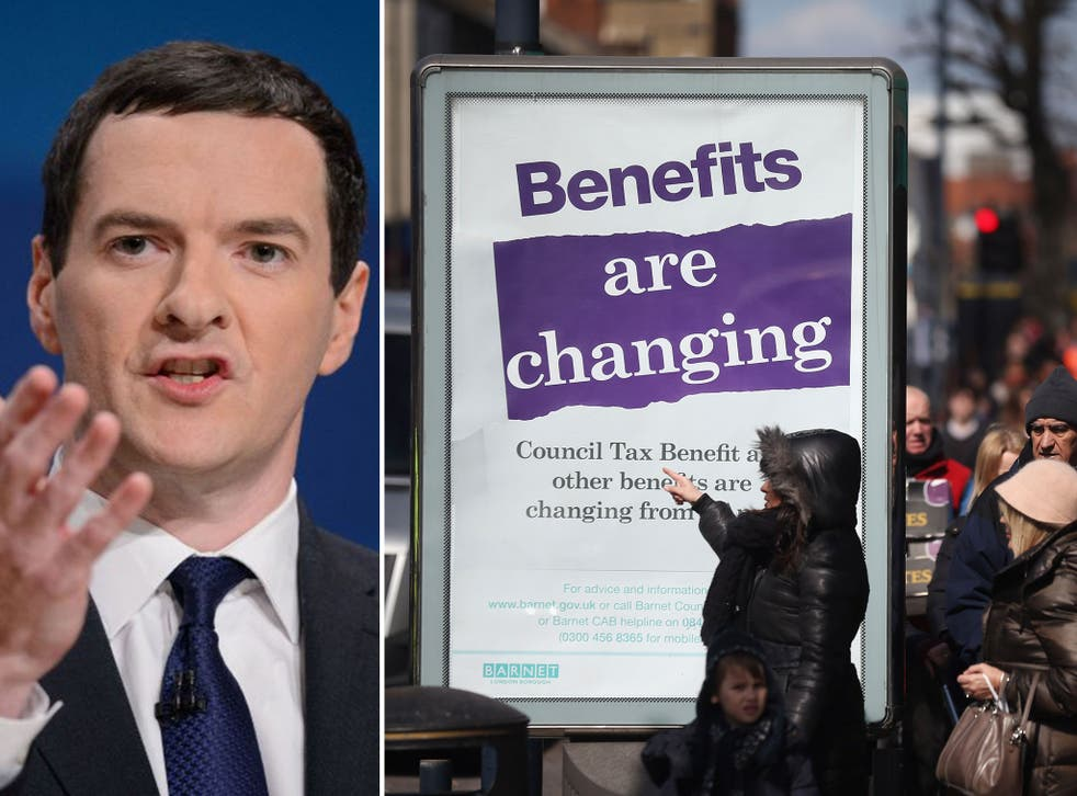 Chancellor George Osborne got a standing ovation from the Tories for a package of tough measures