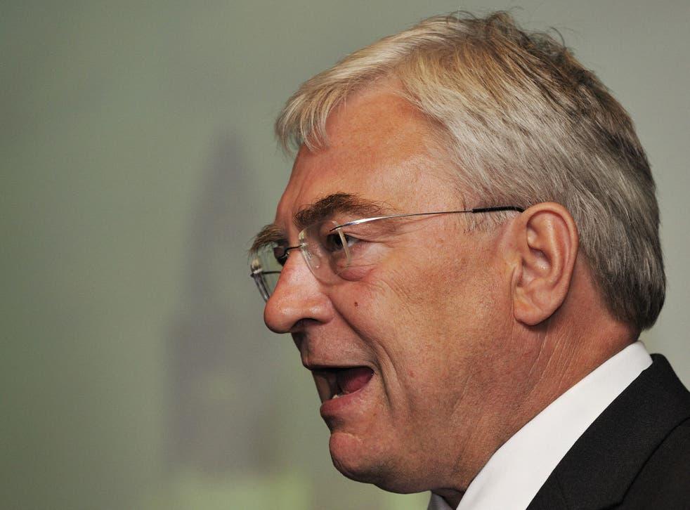 Richard Barnes speaking Deputy Mayor of London in 2009