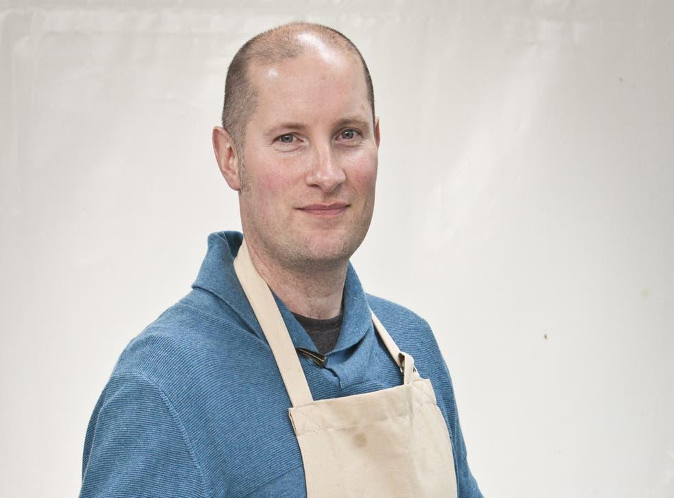 Great British Bake Off 2014 contestant Richard Burr