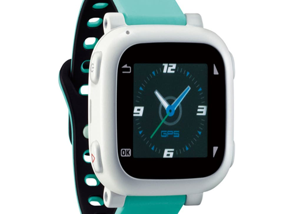 The Docotch 01 watch, unveiled today by NTT DoCoMo