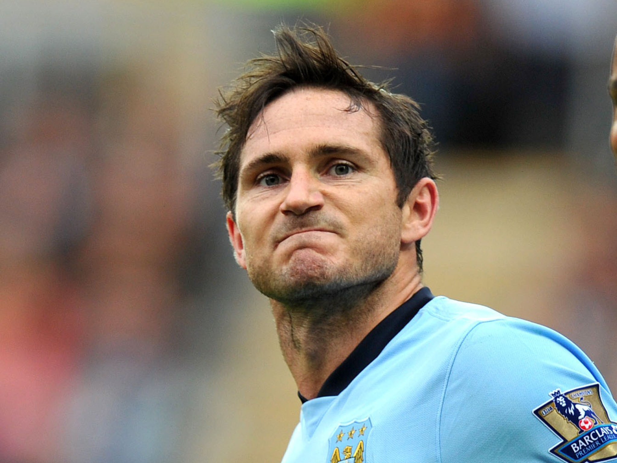 Frank Lampard is solely a Manchester City player and never