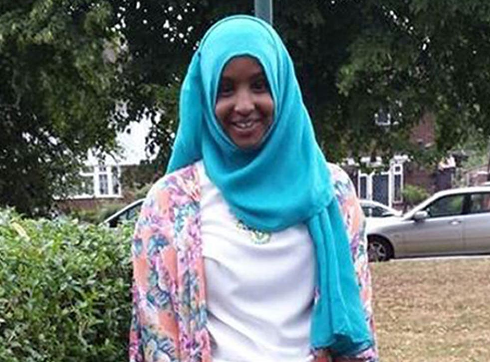 Yusra Hussien was reported missing from her home last week and is believed to be travelling to Syria