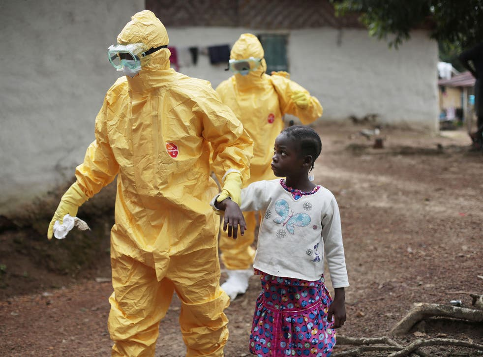Health workers continue to test people for Ebola infection in Liberia