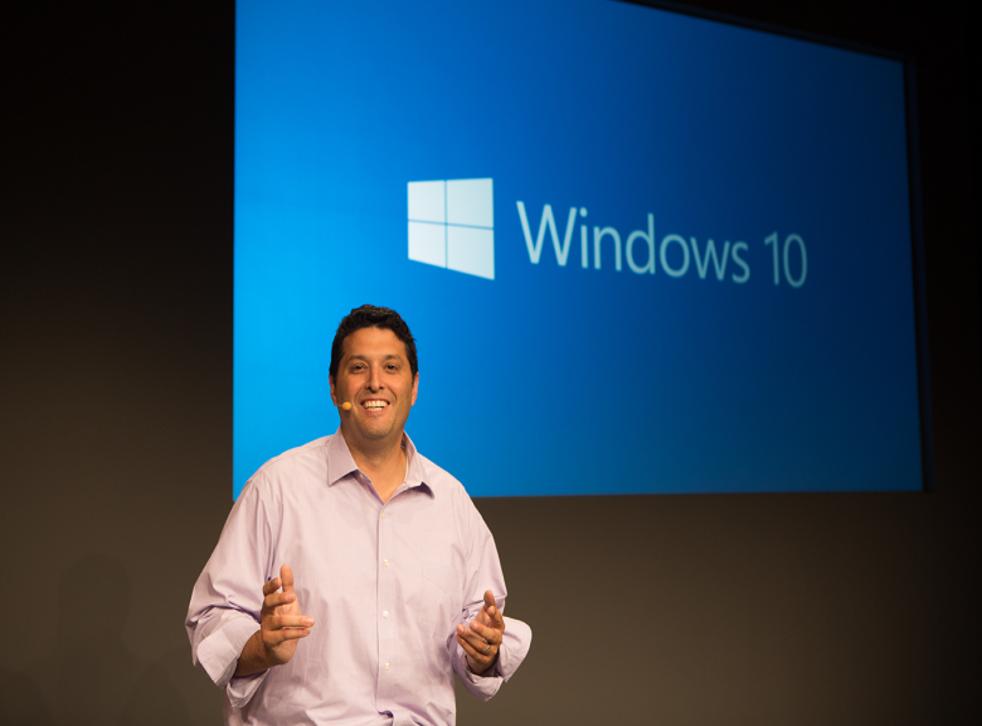 Microsoft exec Terry Myerson launches Windows 10