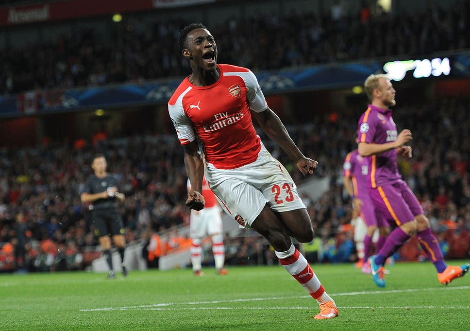 d9f4bc5234f Welbeck showed a remarkable prowess in front of goal to help register the  Gunners  first Champions League group win of the season