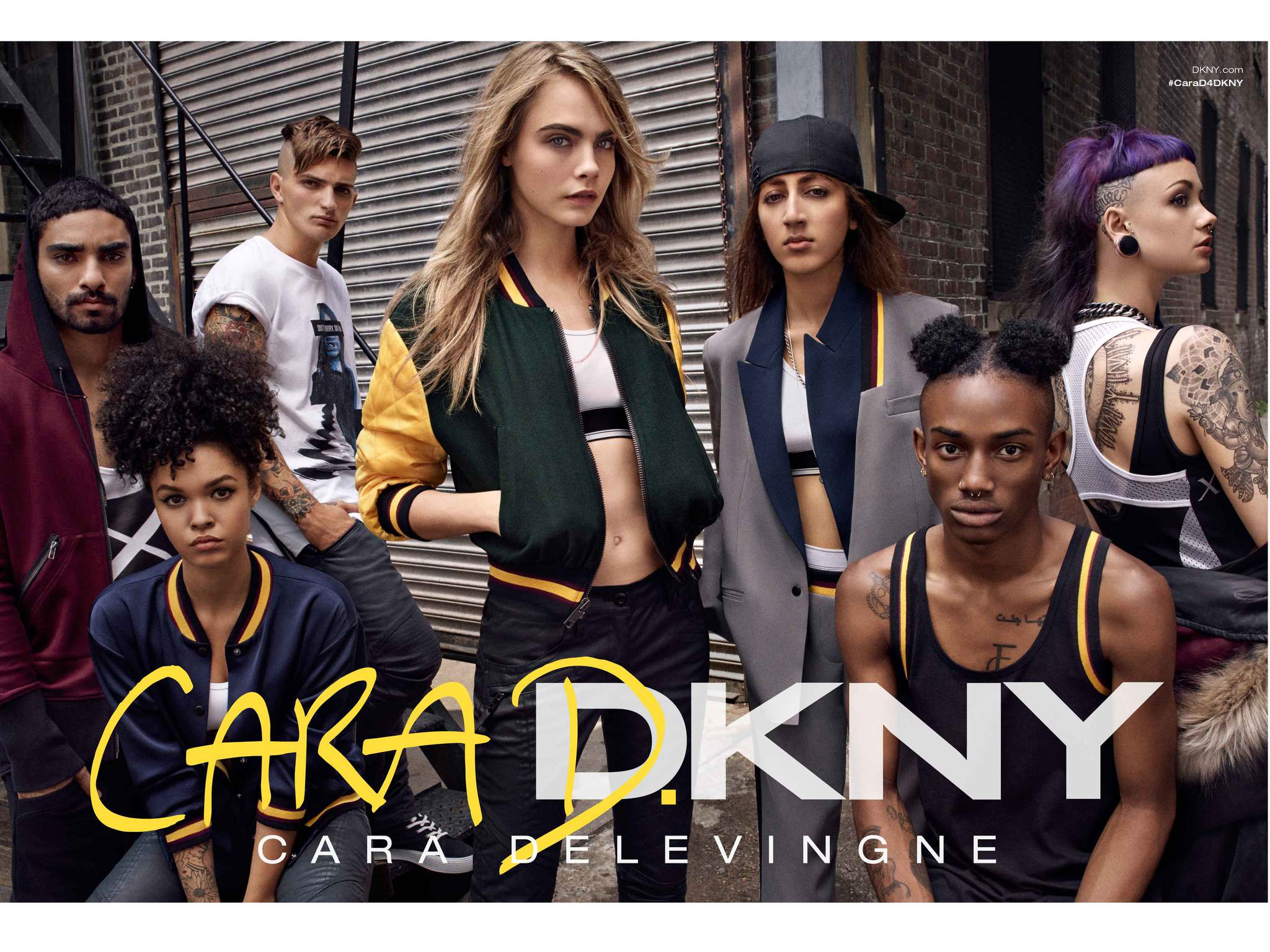 The Cara Delevingne for DKNY Collection Is Here