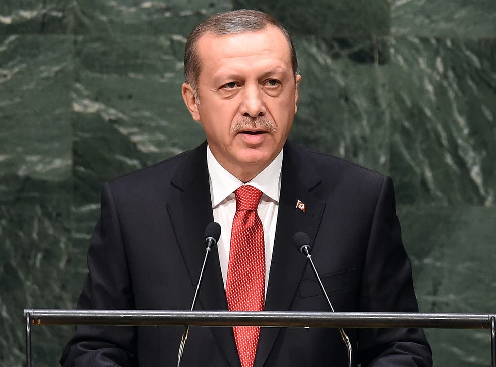 Turkish President Tayyip Erdogan has demanded an apology from US Vice President Joe Biden