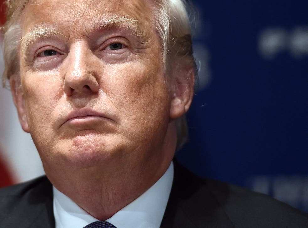 Donald Trump has voiced his disdain at Jon Stewart's particular brand of humour on Twitter