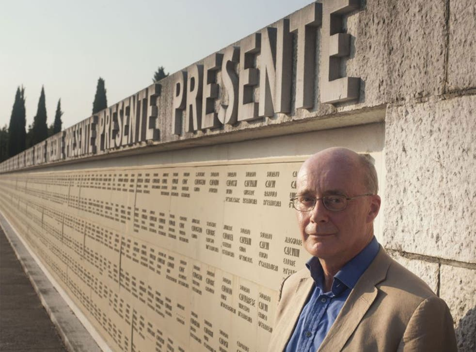 Soldiers' story: David Reynolds visited Redipuglia' Italy's First World War memorial, in 'The Long Shadow'