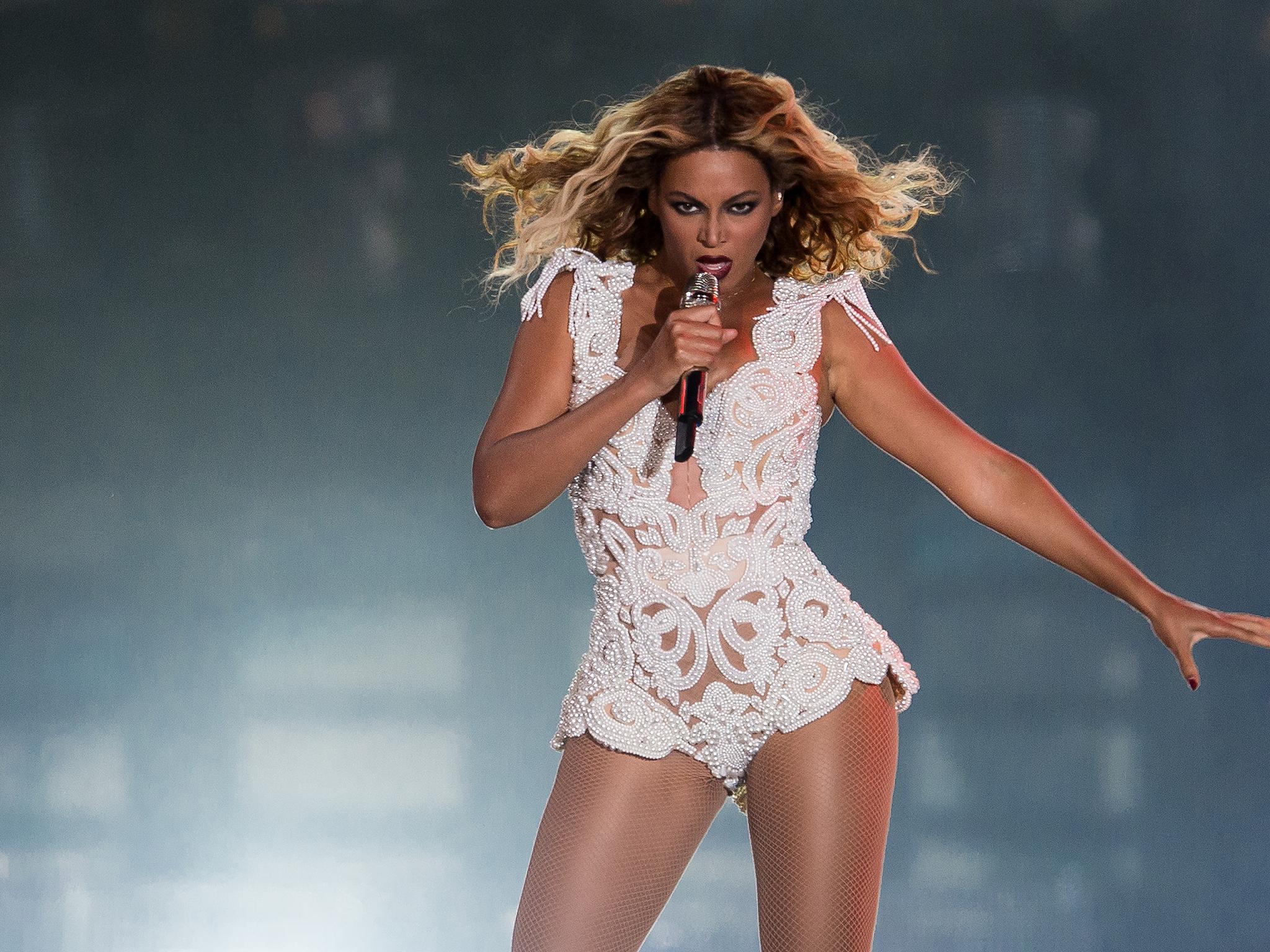 On Beyonce:
