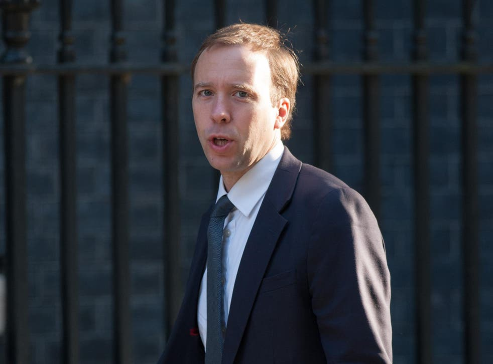 Business minister Matt Hancock had tweeted his own five-line verse about the opposition to mark National Poetry Day