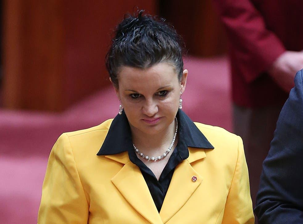 Senator for Tasmania Jacqui Lambie, who has been dubbed the Sarah Palin of Australia
