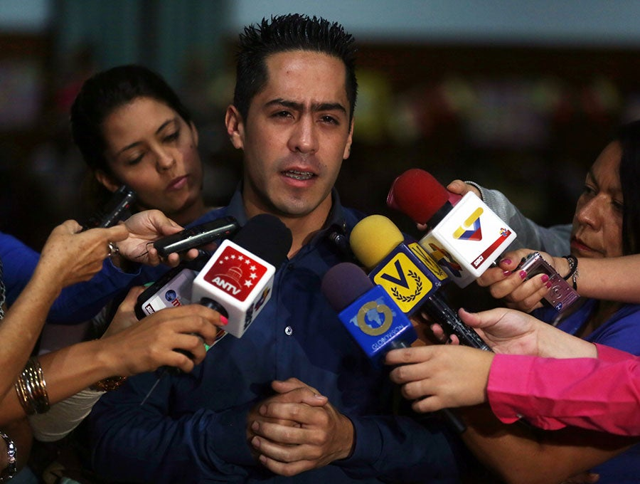 Mystery as rising star of Venezuelan politics killed in perfect murder   The IndependentShape