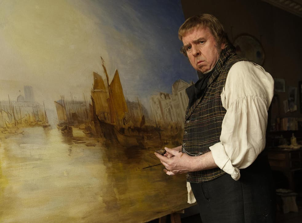Timothy Spall as JMW Turner in Mike Leigh's 'Mr Turner', out on release on 26 October