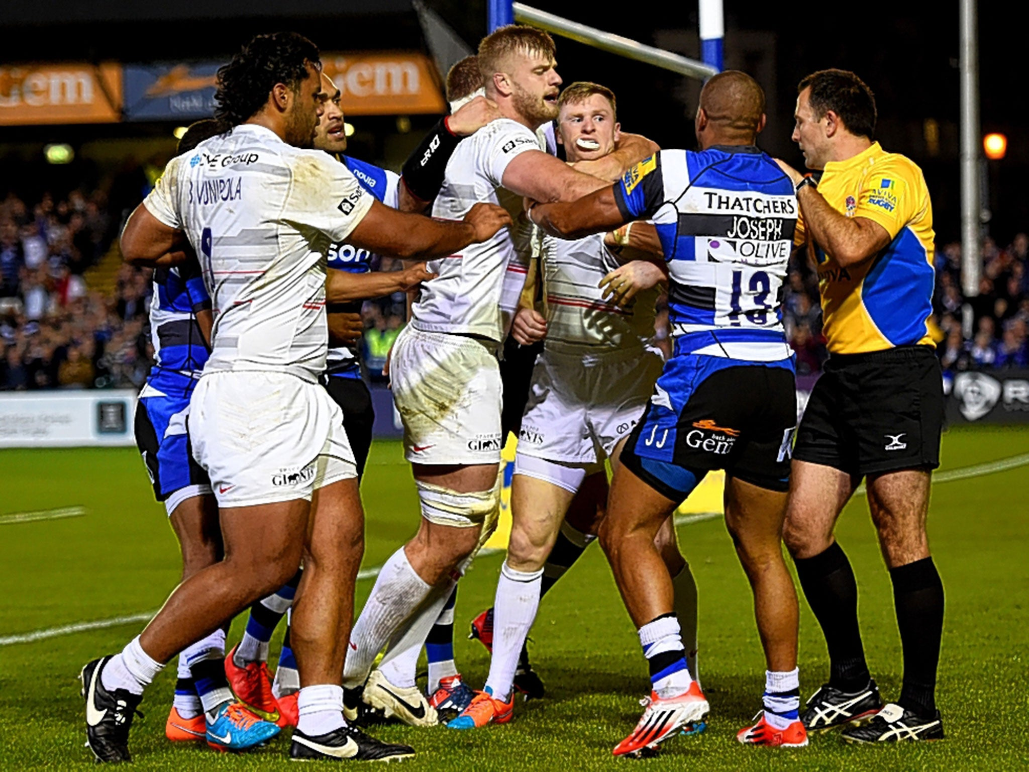 Bath Vs Saracens