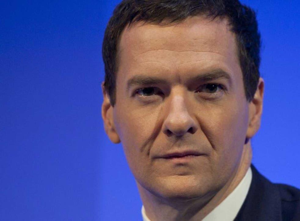 Osborne speaking last night
