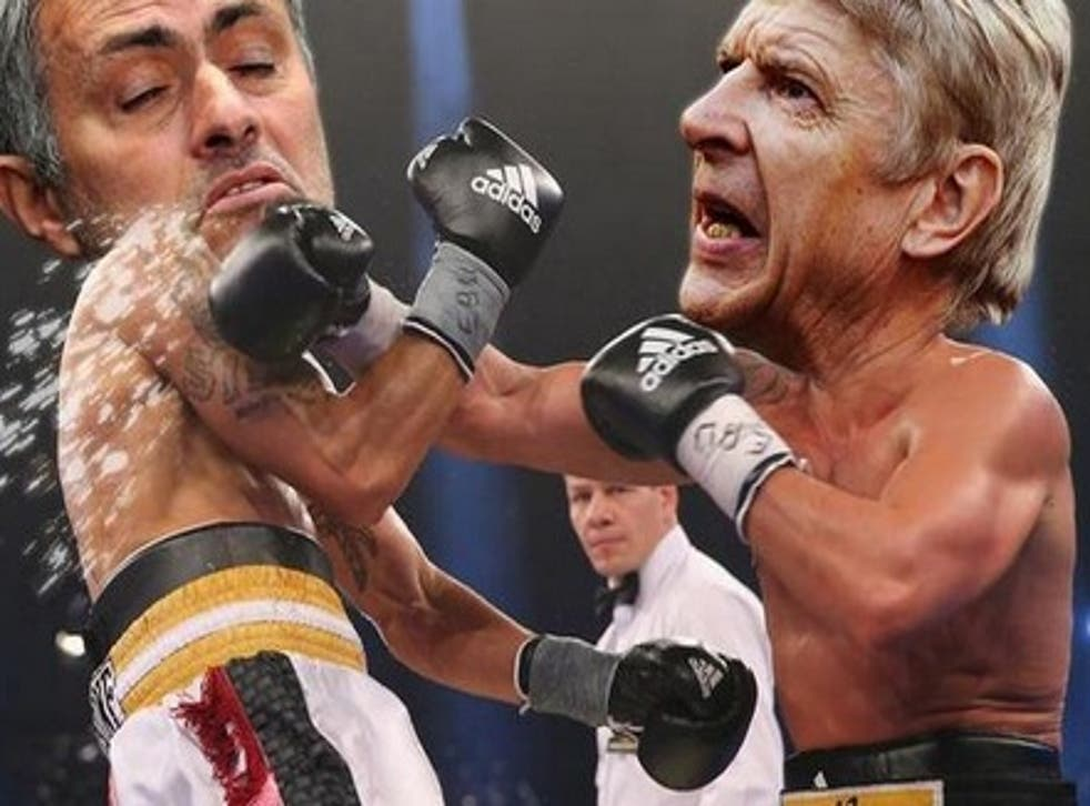 A meme of the heated clash