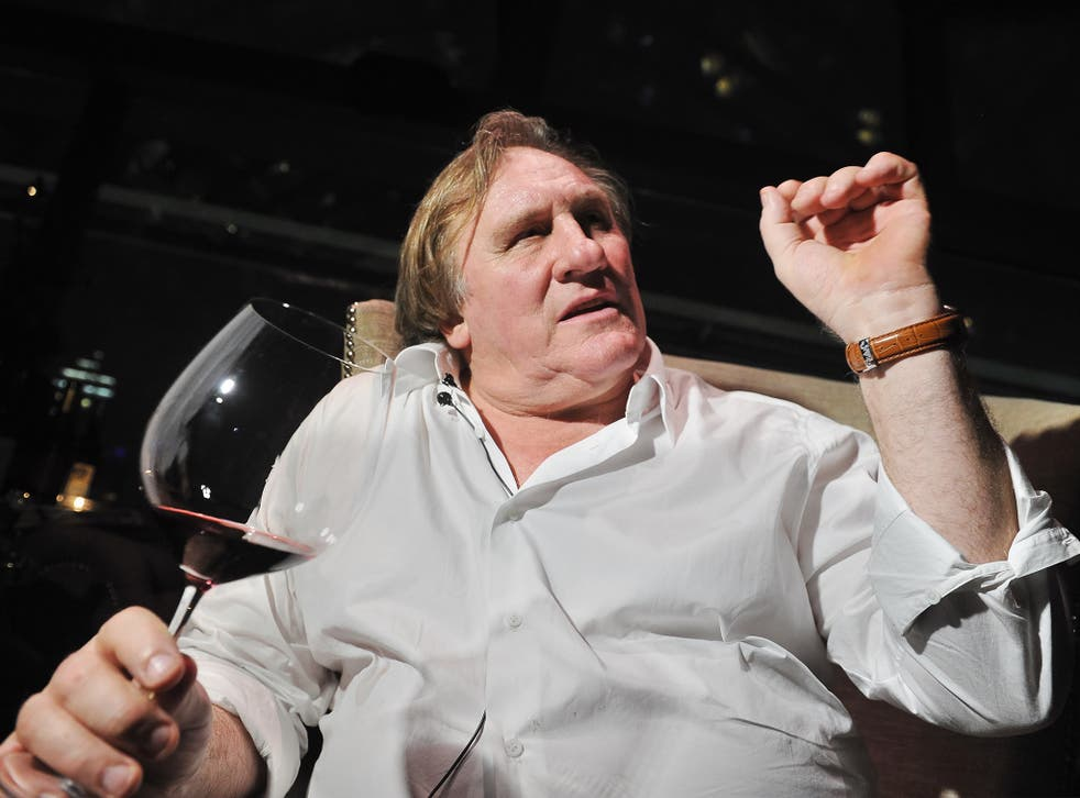 Gérard Depardieu recently revealed he drinks 14 bottles of wine a day