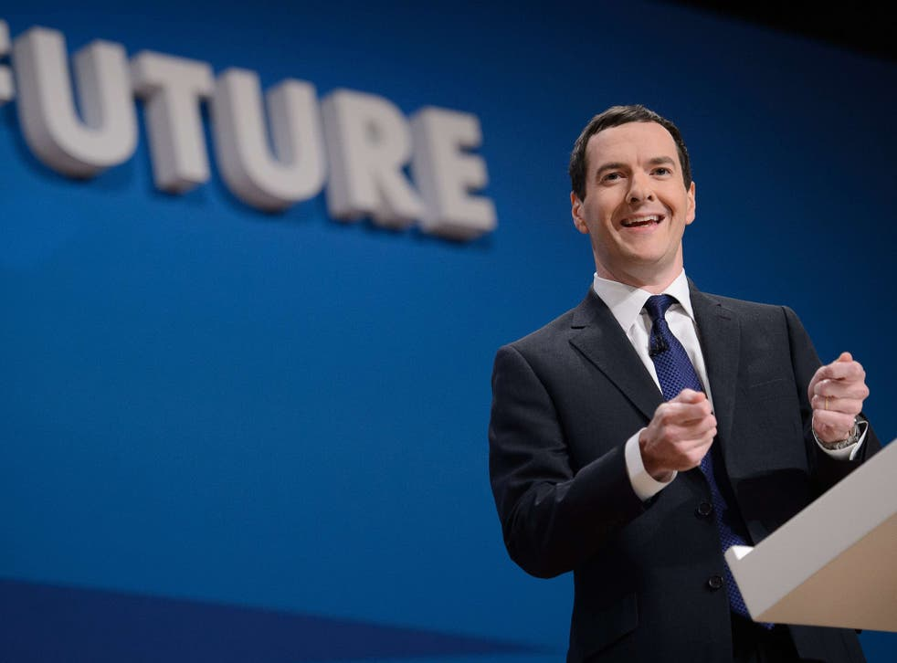 In his conference speech George Osborne claimed that Britain was the best-performing advanced economy