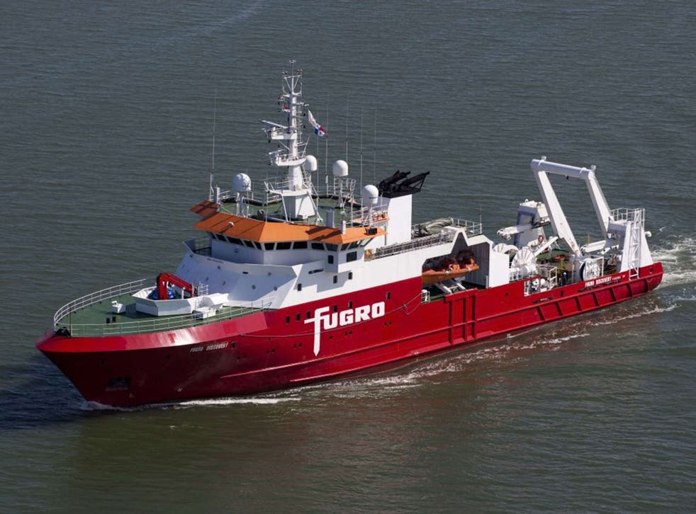 The M/V Fugro Discovery, which along with the Malaysian-contracted GO Phoenix, is searching for MH370