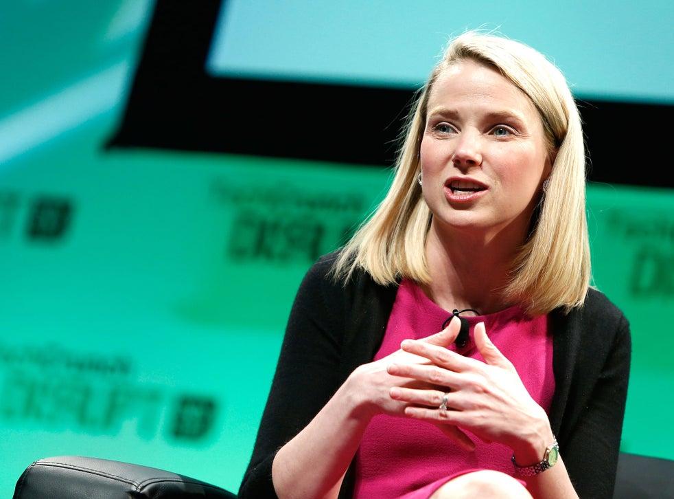 Yahoo! CEO, Marissa Mayer speaks at TechCrunch Disrupt NY 2014