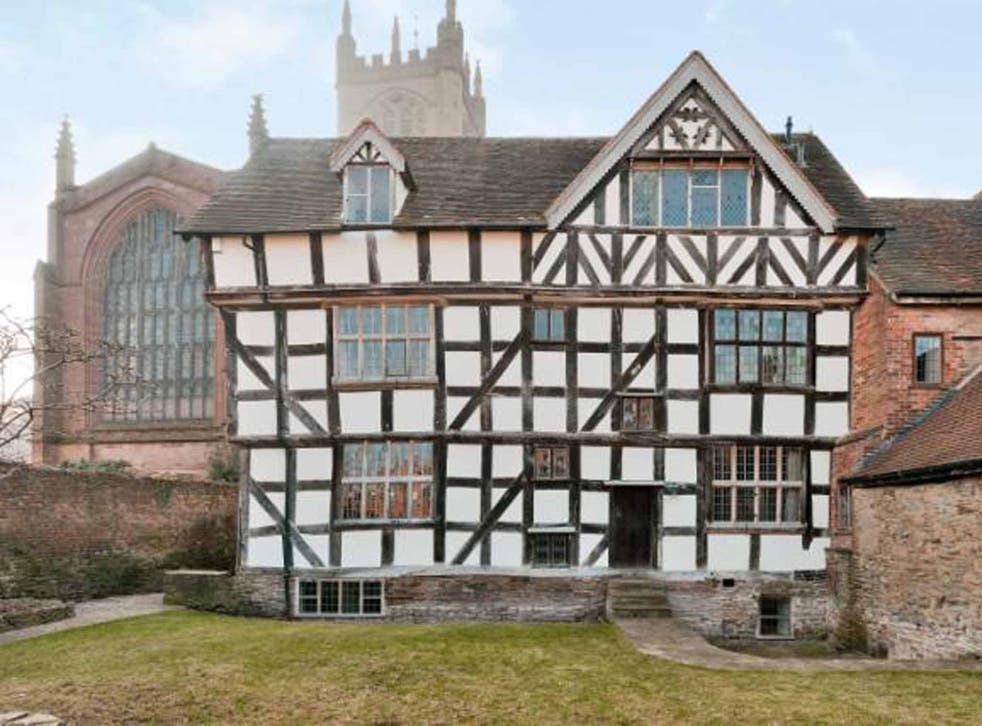 Four bedroom Grade I listed home in Church Walk, Ludlow, Shropshire on for £565,000 with Strutt & Parker.