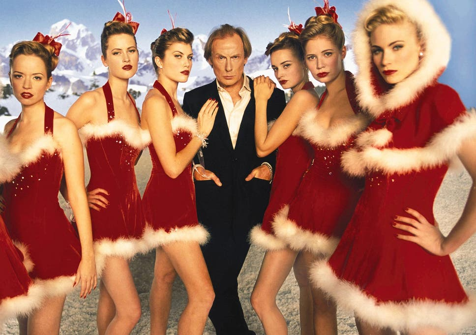 bill nighy stars in richard curtis 2003 rom com love actually - Vince Vaughn Christmas Movie