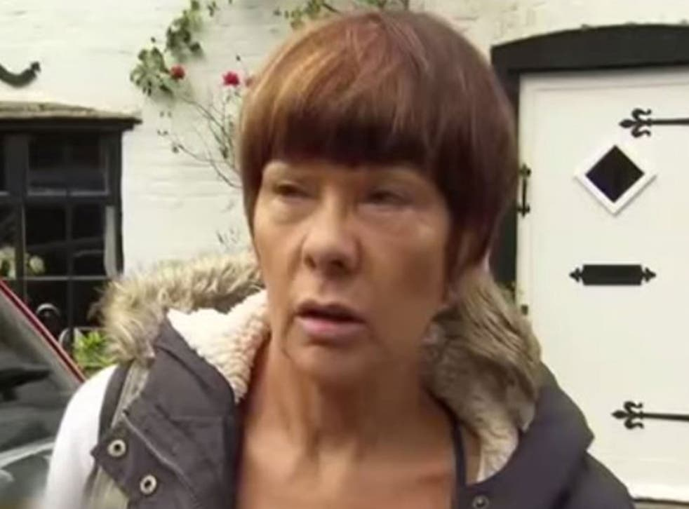 Brenda Leyland was approached by Sky News at her home in Leicestershire last week