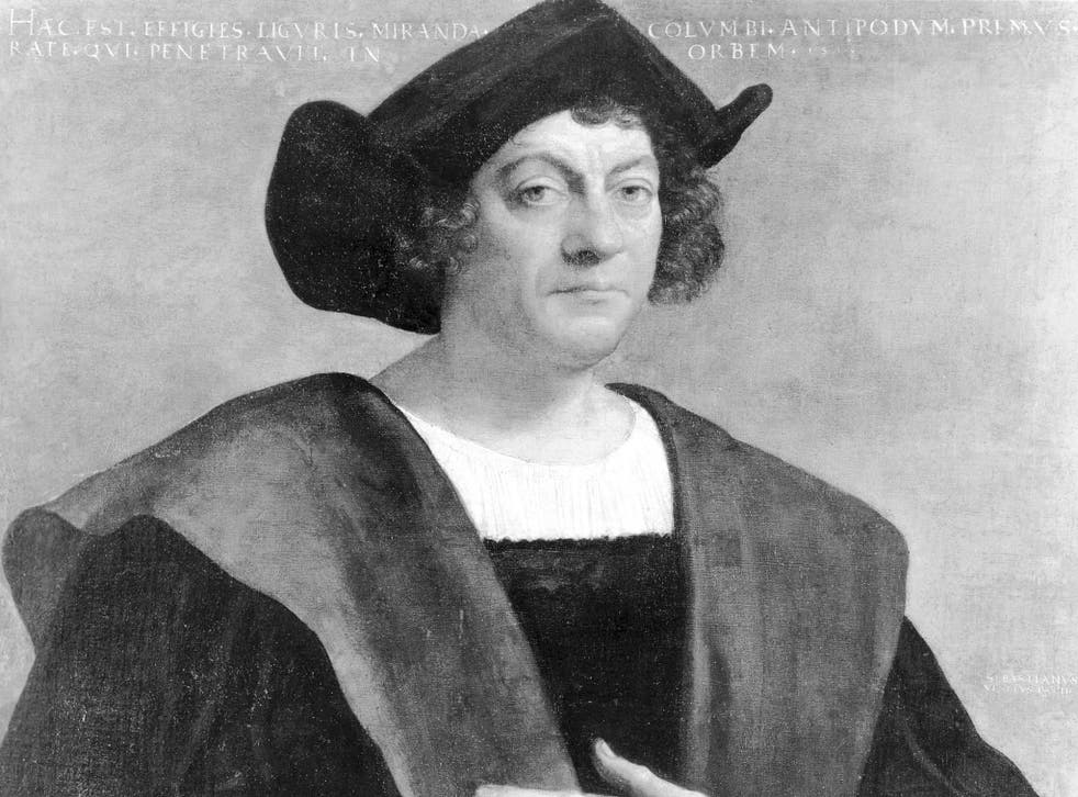 Christopher Columbus hired a ship in 1492 and sailed in it from southern Spain's Atlantic coast in search of a new western route to Asia (Rex)