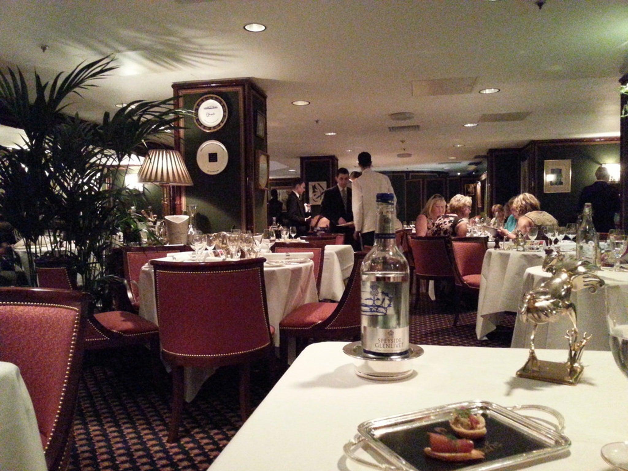 Le gavroche private dining