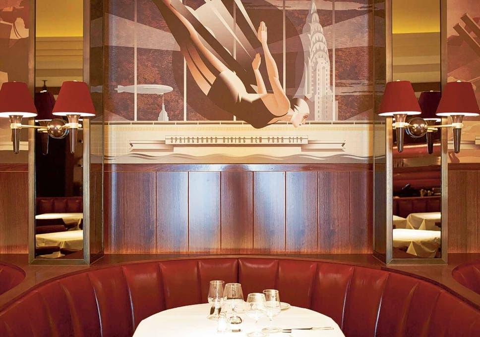 Colony Grill Room London Restaurant Review The Independent